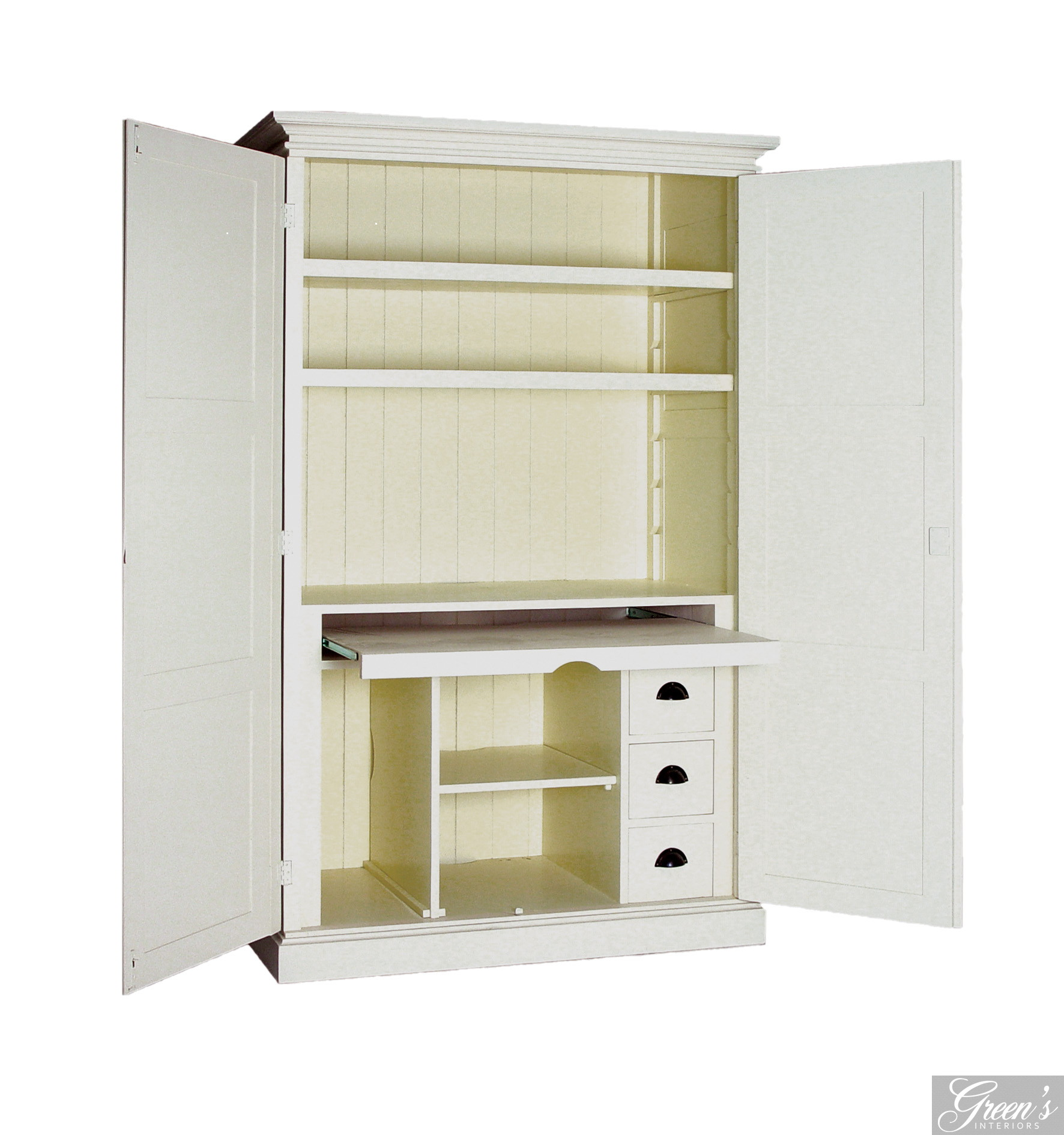 PC-Schrank, Landhaus, Houston, Kiefer farbig - DAM 2000 Ltd ...