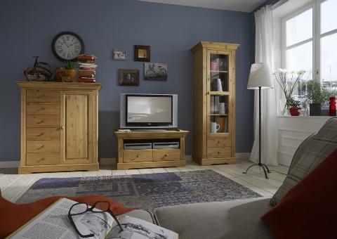 onlineshop wohnwand amrum kiefer massiv dam 2000 ltd co kg. Black Bedroom Furniture Sets. Home Design Ideas